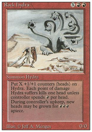 Rock Hydra, Revised
