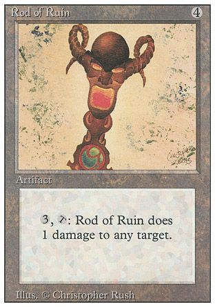 Rod of Ruin, Revised