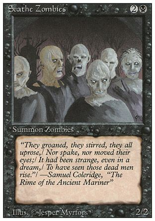 Scathe Zombies, Revised