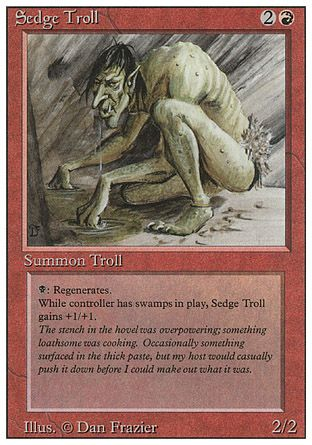 Sedge Troll, Revised