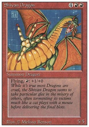 Shivan Dragon, Revised