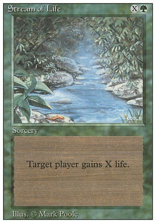 Stream of Life, Revised