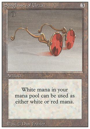 Sunglasses of Urza, Revised
