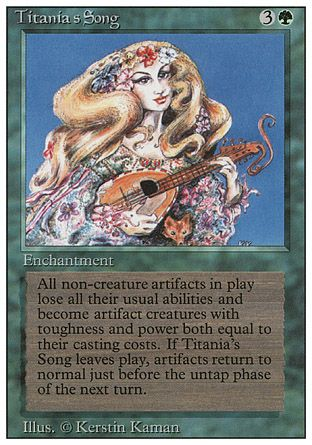 Titania's Song, Revised