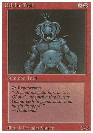 Uthden Troll, Revised