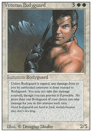 Veteran Bodyguard, Revised