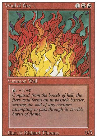 Wall of Fire, Revised