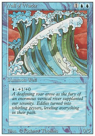 Wall of Water, Revised