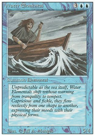 Water Elemental, Revised