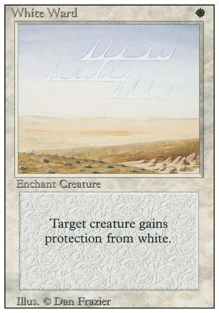 White Ward, Revised