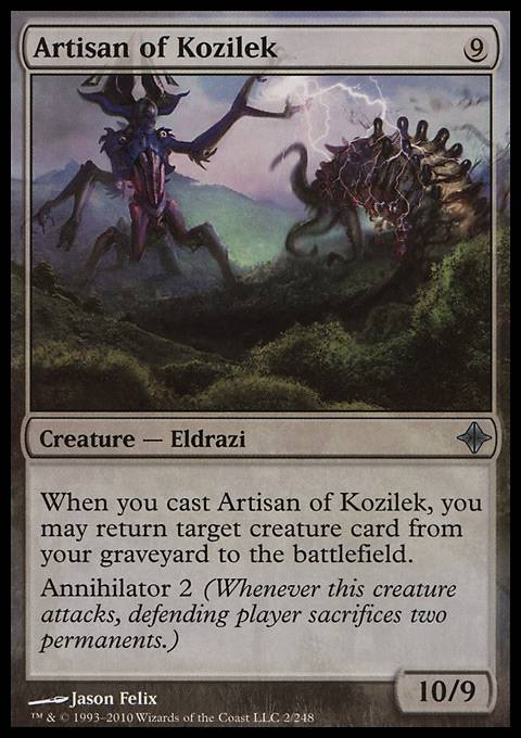Artisan of Kozilek, Rise of the Eldrazi