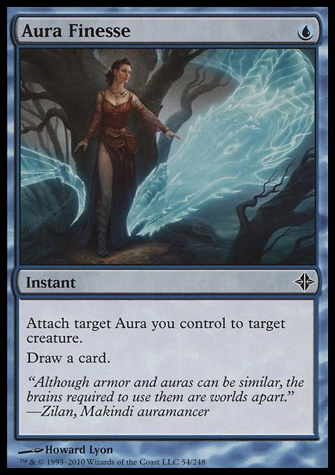 Aura Finesse, Rise of the Eldrazi