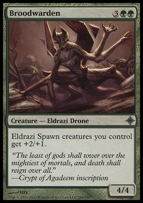 Broodwarden, Rise of the Eldrazi