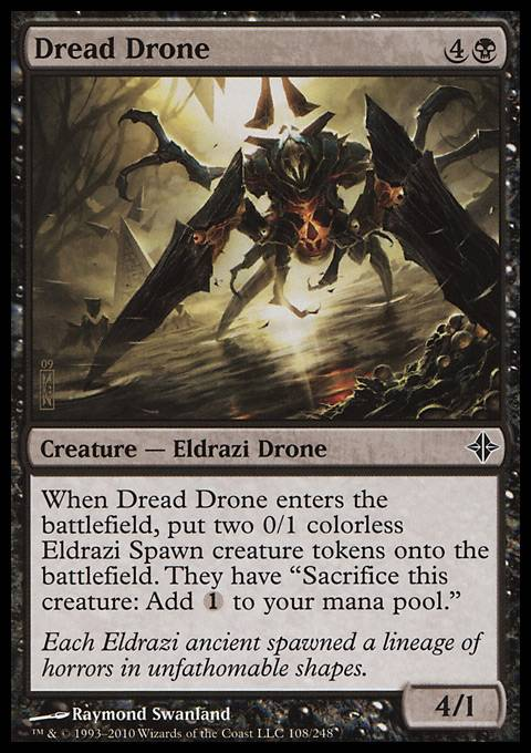 Dread Drone, Rise of the Eldrazi