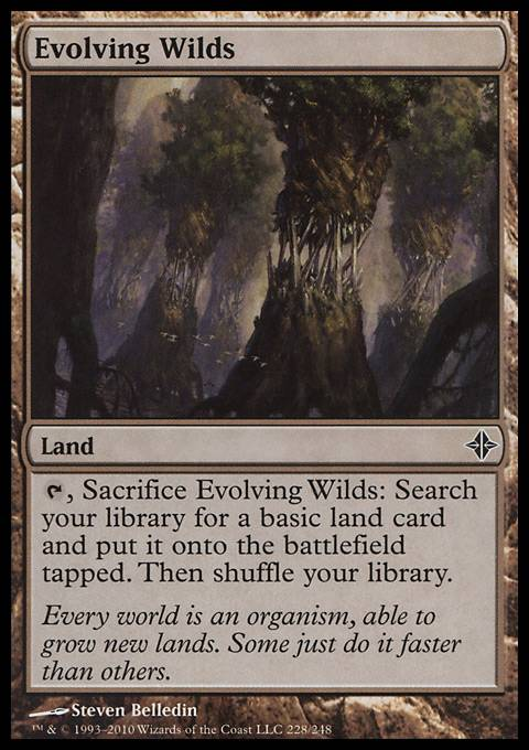 Evolving Wilds, Rise of the Eldrazi