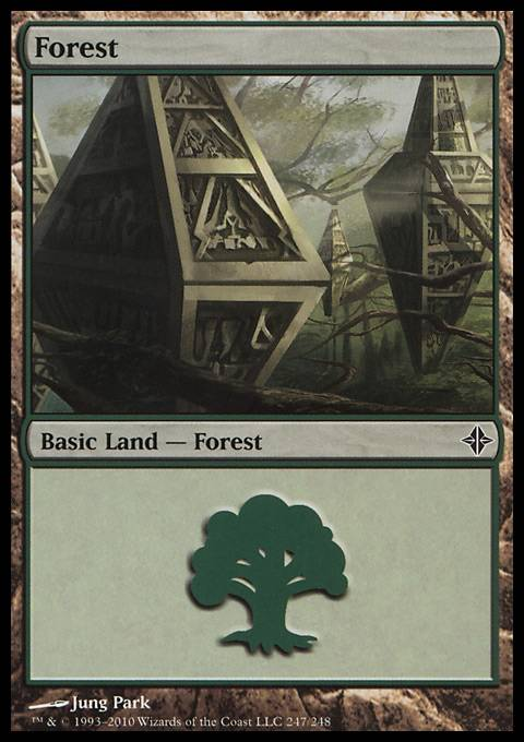 Forest, Rise of the Eldrazi