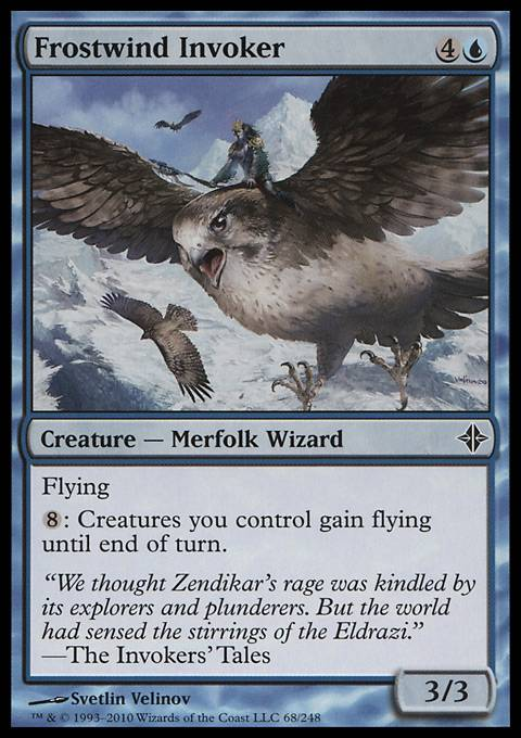 Frostwind Invoker, Rise of the Eldrazi
