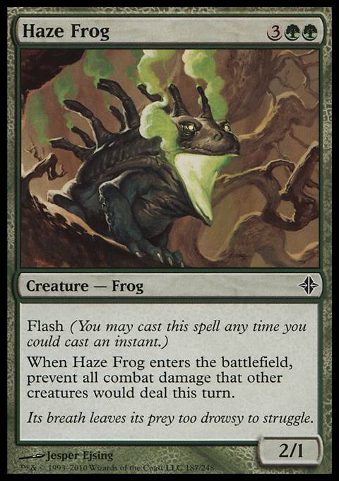 Haze Frog, Rise of the Eldrazi