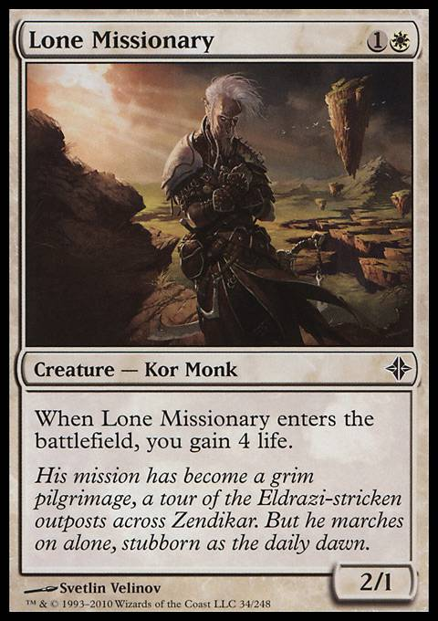Lone Missionary, Rise of the Eldrazi