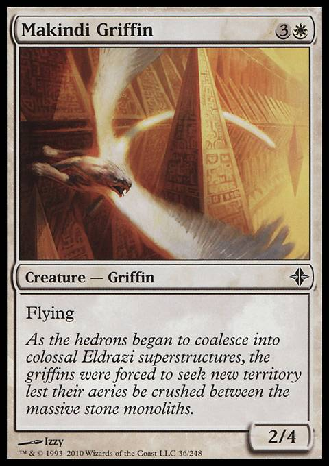 Makindi Griffin, Rise of the Eldrazi