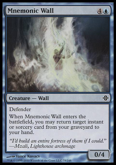 Mnemonic Wall, Rise of the Eldrazi