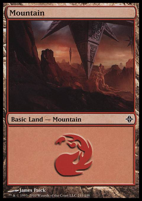 Mountain, Rise of the Eldrazi