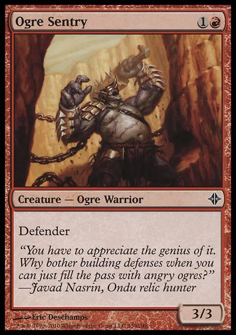 Ogre Sentry, Rise of the Eldrazi