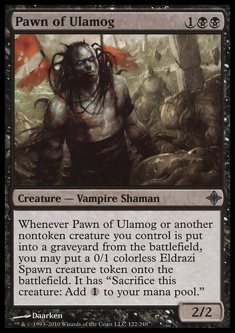 Pawn of Ulamog, Rise of the Eldrazi