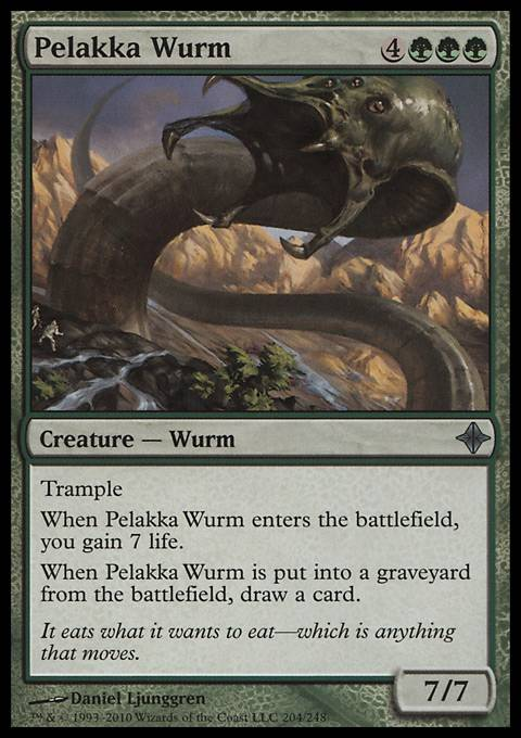 Pelakka Wurm, Rise of the Eldrazi