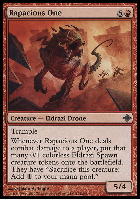 Rapacious One, Rise of the Eldrazi