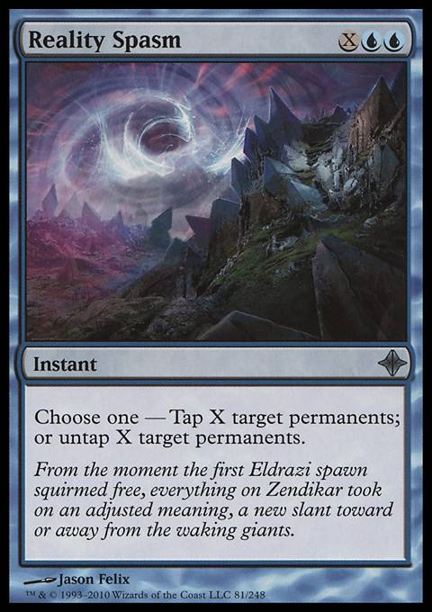 Reality Spasm, Rise of the Eldrazi