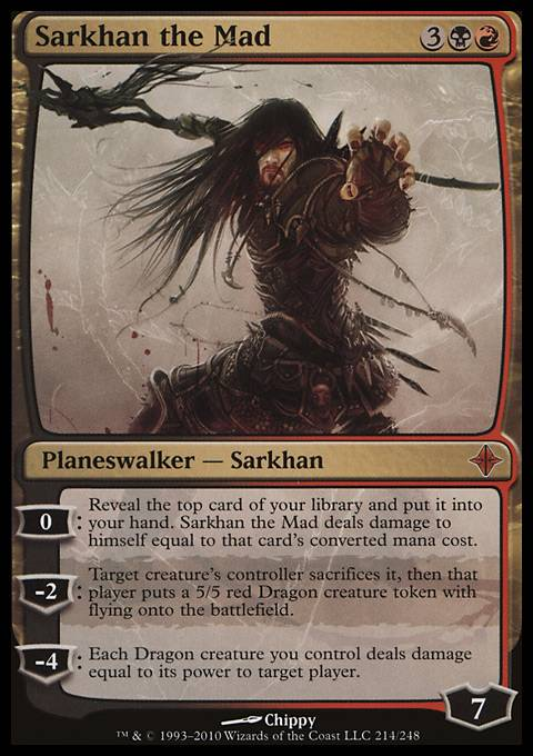 Sarkhan the Mad, Rise of the Eldrazi