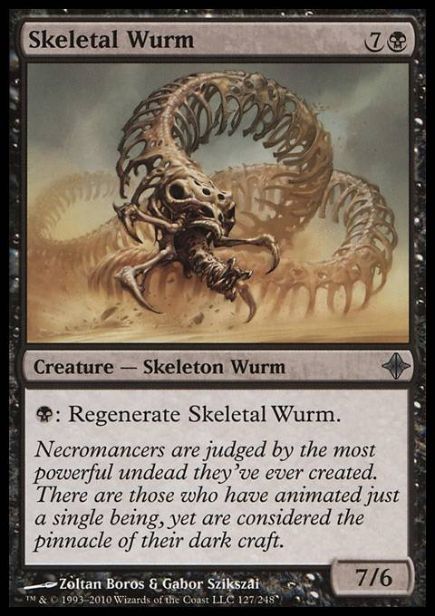 Skeletal Wurm, Rise of the Eldrazi