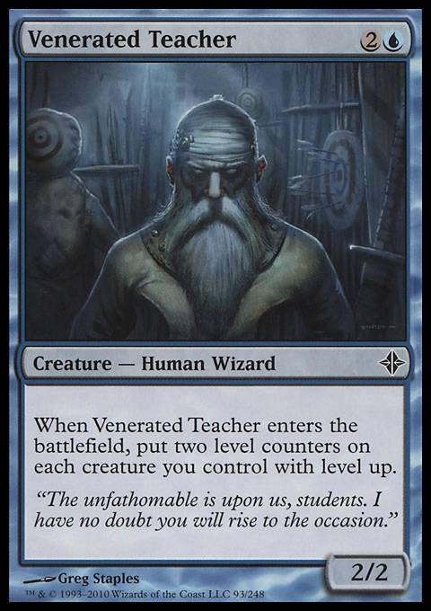 Venerated Teacher, Rise of the Eldrazi