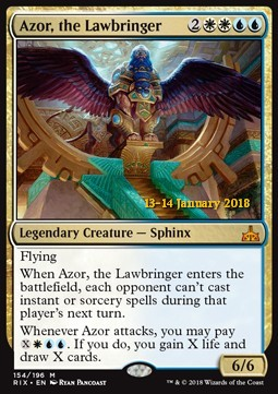 Azor, the Lawbringer, Rivals of Ixalan Promos