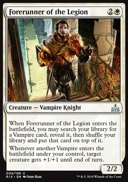 Forerunner of the Legion, Rivals of Ixalan