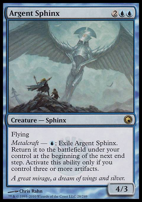 Argent Sphinx, Scars of Mirrodin