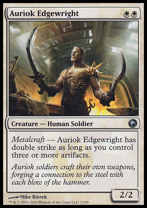 Auriok Edgewright, Scars of Mirrodin