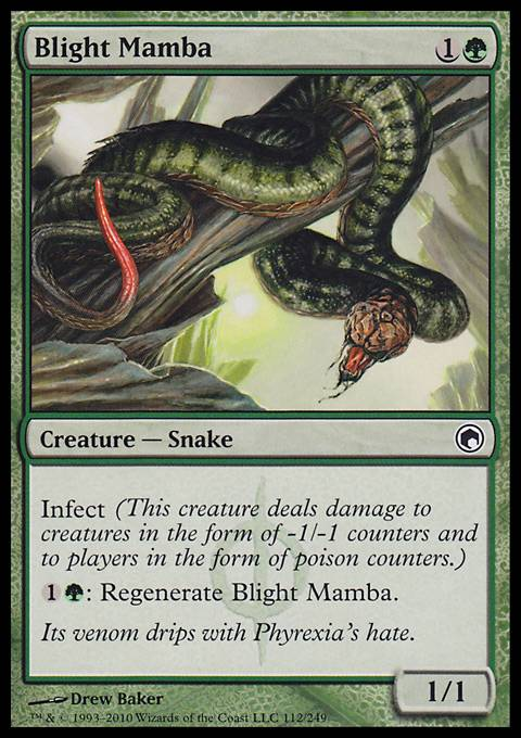 Blight Mamba, Scars of Mirrodin