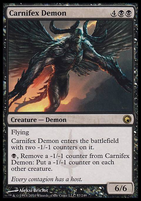 Carnifex Demon, Scars of Mirrodin