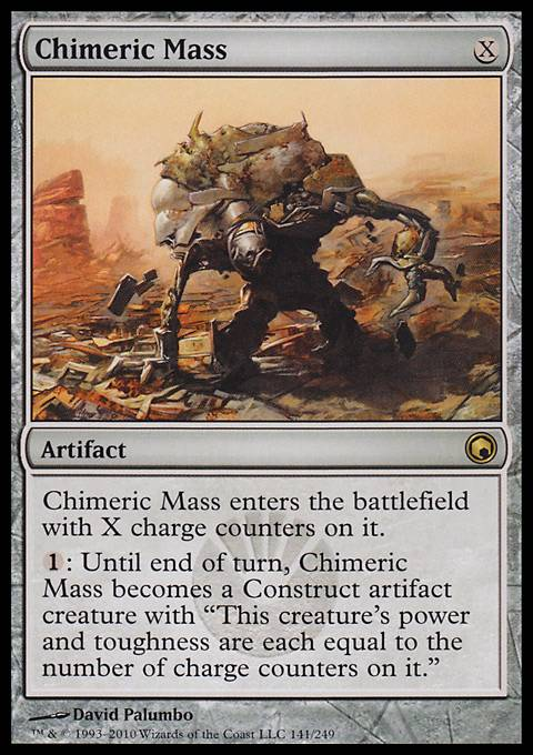 Chimeric Mass, Scars of Mirrodin