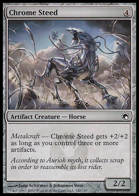 Chrome Steed, Scars of Mirrodin