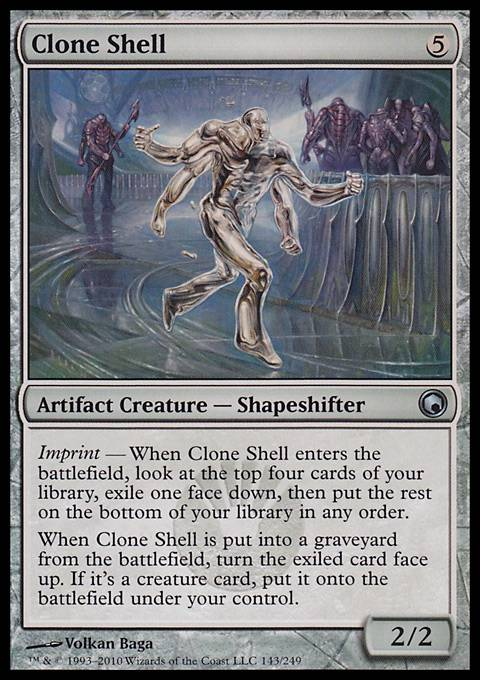 Clone Shell, Scars of Mirrodin