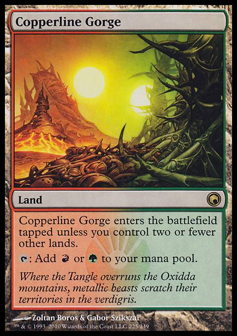 Copperline Gorge, Scars of Mirrodin
