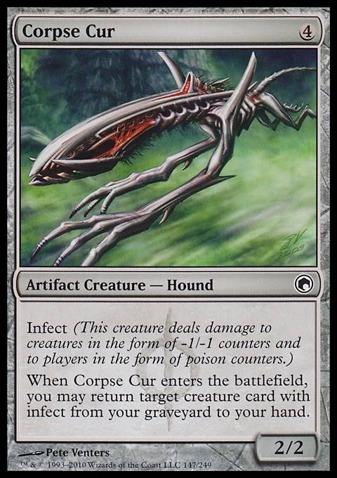 Corpse Cur, Scars of Mirrodin