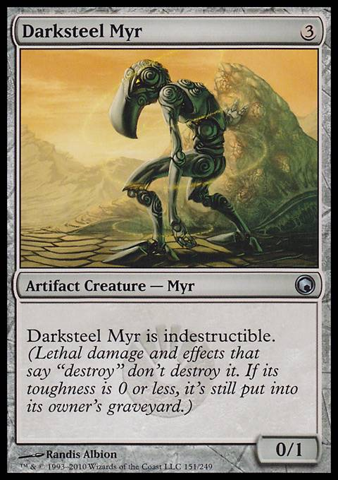 Darksteel Myr, Scars of Mirrodin