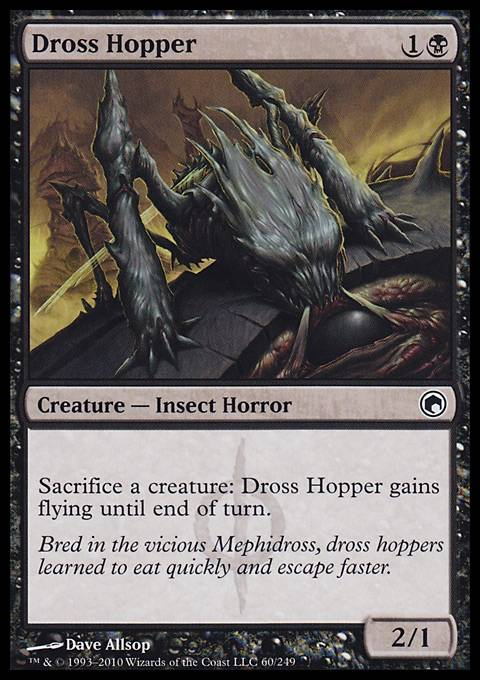Dross Hopper, Scars of Mirrodin