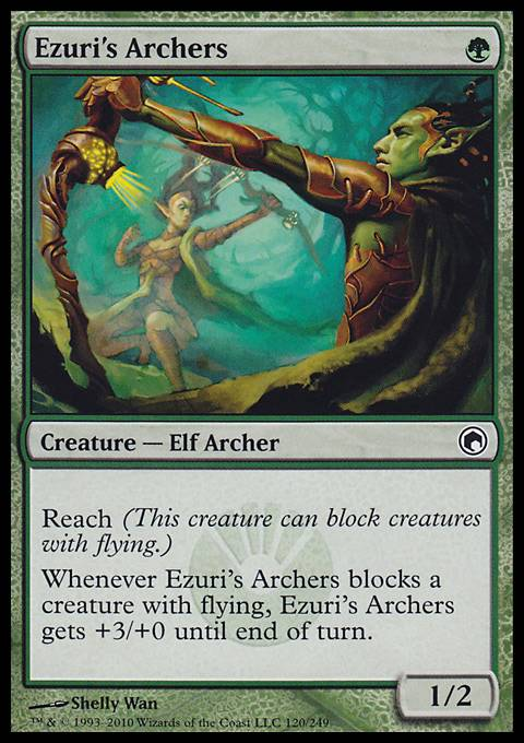 Ezuri's Archers, Scars of Mirrodin