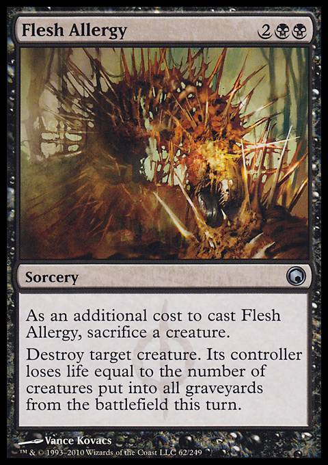 Flesh Allergy, Scars of Mirrodin