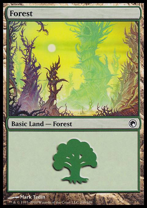 Forest, Scars of Mirrodin